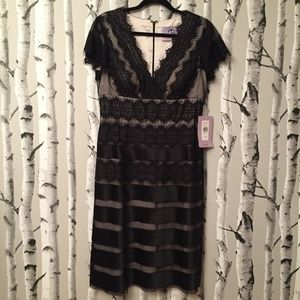 JS Collections NWT Black Lace Dress.